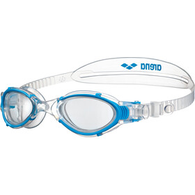arena Nimesis Crystal Zwembril Dames, clear-clear-lightblue